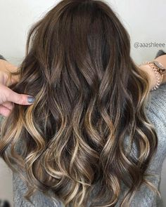 Balayage High Lights To Copy Today - Reversed Chocolate - Simple, Cute, And Easy Ideas For Blonde Highlights, Dark Brown Hair, Curles, Waves, Brunettes, Natural Looks And Ombre Cuts. These Haircuts Can Be Done DIY Or At Salons. Don't Miss These Hairstyles! - http://thegoddess.com/balayage-high-lights-to-copy