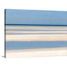 Large Abstract Wall Art Beach Decor Cape Cod Artwork Skaket Beach... ($157) ❤ liked on Polyvore featuring home, home decor, wall art, home & living, home décor, silver, wall décor, wall hangings, ocean paintings and matte painting