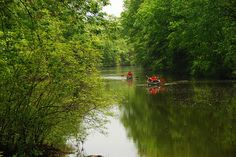 Blackwells Mills - beautiful place to canoe - it's very relaxing and you can rent canoes at the bridge in Griggstown.