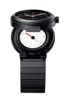 Porsche design p 6520 compass watch