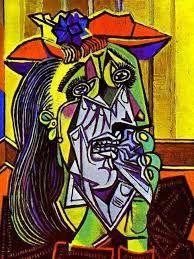 Pablo Picasso, Donna che piange,1937, Tate Modern, Londra.