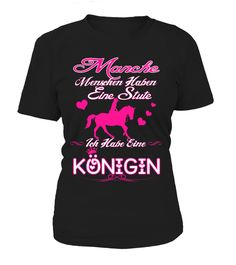 PFERDE KÖNIGIN SHIRT LIMITIERT  #image #grandma #nana #gigi #mother #photo #shirt #gift #idea