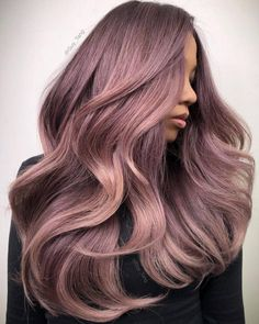 HairBesties, Have you tried the Naked Tones yet? You can intermix them with your RG, DL, SS to create the coolest iridescent tones. Bayalage, Hair Color Balayage, Hair Color Pink, Cool Hair Color, Pink Hair, Pretty Hairstyles, Braided Hairstyles, Hair Inspo, Hair Inspiration