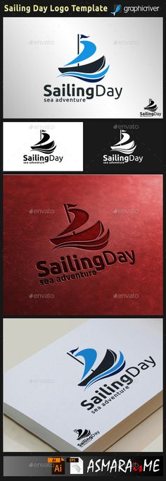 File Description  Sailing Day is stylish logo with SailBoat concept, make this logo looks strong, and excellent.  Very suitable fo