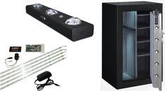 Light up your safe. There are many options for a gun safe lighting. Read about the most popular types and their advantages or disadvantages. Safe Storage, Firearms, Light Up, Finding Yourself, Guns, Popular, Weapons Guns, Weapons, Most Popular