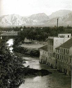 Los Molinos del Río Segura. Puente de Hierro