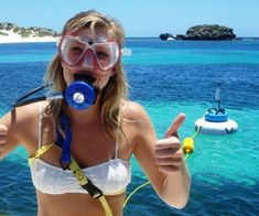 Explore the deep ocean without all of the complicated diving equipment with the snorkel hookah. This useful device takes snorkeling to new depths - it houses a. Scuba Diving Equipment, Snorkel Mask, Scuba Girl, Survival Skills, Fishing Lures, Water Sports, Snorkeling, Summer Fun, Underwater