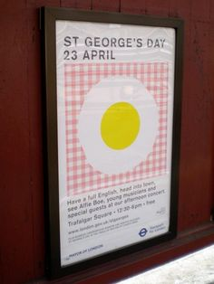 St George's Day 2011 poster