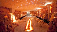 Salt Cave Oakville - Himalayan salt has numerous health benefits, and that in a relaxing oasis! Oakville Restaurants, Salt Cave Spa, Himalayan Salt Room, Bad Hotel, Best Spa, Landscape Architecture, Toronto, Places To Visit, Relax
