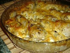 Potatoes chicken legs in the oven / Culinary Universe Tasty, Yummy Food, Chicken Legs, Russian Recipes, Great Recipes, Macaroni And Cheese, Food And Drink, Potatoes, Cooking Recipes