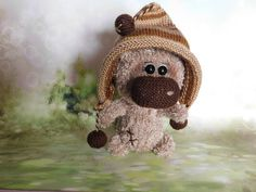 Amigurumi Stuffed bear Fun Sweet Bear toy Crochet bear Knitted