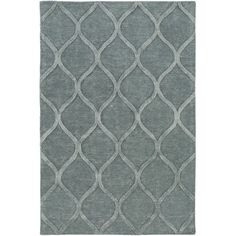 Found it at Wayfair - Urban Cassidy Hand-Tufted Light Blue Area Rug