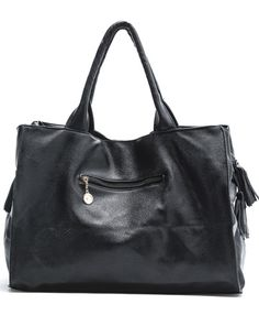 Black Rivets Clutch Bag