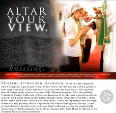 Altar Your View!  http://unavoce.fr/