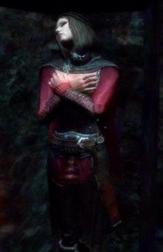 Serana from the Skyrim DLC Dawnguard.