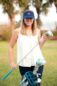 Stay cool in our Monogram Visor. This personalized visor is great for all you summer activities- running, relaxing at the beach, enjoying a baseball game, and much more. Pick and choose from 8 fun, summer colors.  We also have Mongram Caps available here