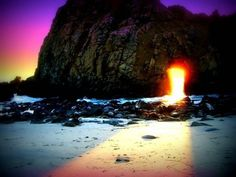 big sur and the summer equinox during the mid 1060's