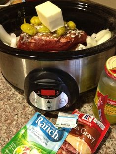 hot mama: In The Crockpot: Not Your Average Pot Roast