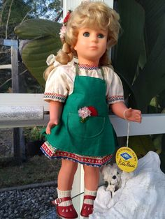 Kathe Kruse 16'' Celluloid German Girl by Blissfulcollectables on Etsy