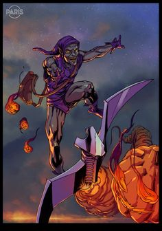 Green Goblin by ParisAlleyne on deviantART