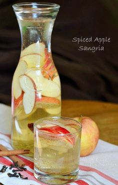 Perfect for your next girls' night in, this Spiced Apple Sangria is a festive cocktail that's sure to become an entertaining go-to.