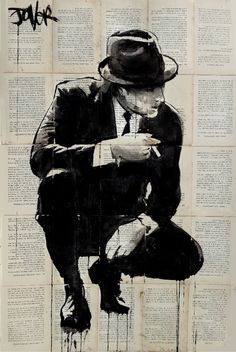 "Saatchi Art Artist LOUI JOVER; Drawing, ""good fella"" #art"