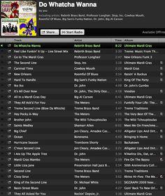 Mardi Gras music playlist
