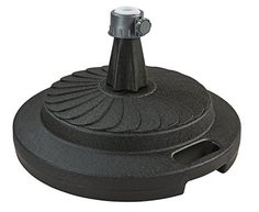 Patio Living Concepts 00290 Commercial Umbrella Stand, Black
