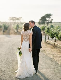 Sunstone Winery Wedding - pink, peach - Jose Villa 15