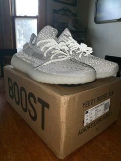 6a3d0be480ea Yeezy Boost 350 V2 Static Reflective Size 10 with Original Box  fashion   clothing