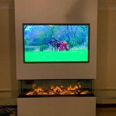 Zigis Fireplaces - Premier Retailer of Gas & Electric Fires in Essex Living Room Decor Fireplace, Fireplace Tv Wall, Fireplace Remodel, Modern Fireplace, Fireplace Design, Fireplace Ideas, Living Room Update, Living Room Tv, Electric Fires