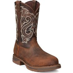DB4104 - Workin' Rebel Boot with brown accents and detailing
