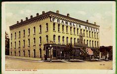 Postcard CA 1920s View Franklin House Montague MI | eBay