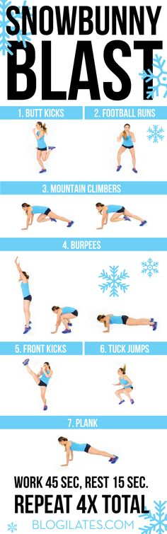 Get HOT this winter with this fat shredding HIIT routine! It's less than 30 min and it WORKS.
