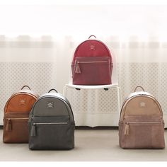 Monopoly Harmony mix match leather backpack (http://www.fallindesign.com/monopoly-harmony-mix-match-leather-backpack/)