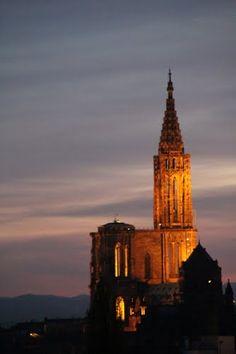 Notre Dame de Strasbourg - Alsace, France