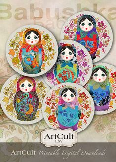 Tamaño de 25 pulgadas para imprimir imágenes muñecas por ArtCult