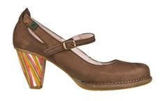 N476 Crust Leather Coco / Colibri Multicolor - Woman Shoes - Online Shop - El Naturalista
