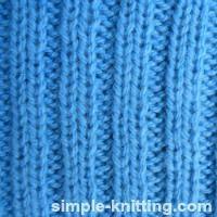 Rib Stitch Patterns - How To Knit Ribbing