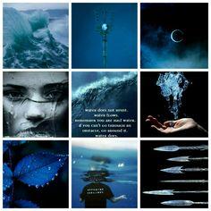 The zodiac signs as demigods: Cancer; daughter of Poseidon ♋