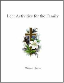 For many families, Easter just happens. Don't let this occur this year. Have a meaningful Lent by doing a special activity each day of Lent. Then fill in the fruit on the Lenten Tree Chart and count down to Easter. Free download. Lent starts this Wednesday!