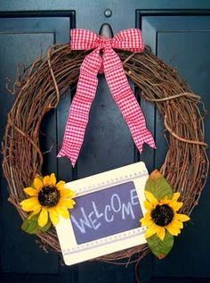 Back to school wreath, add some color by decorating it with roses, spider mums, hypericum, and/or gypsophilia of different colors.