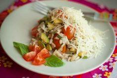 Zucchini, Tomato & Basil Risotto! #vegelicacy