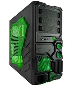 so i was poking around on the internet looking for a HAL case for Frankentop's replacement and i found this - now tempted to scrap HAL and create the Central Plexus...   Apevia X-Sniper 2 mid tower with large side window, front USB3.0/audio ports - Green Apevia http://www.amazon.com/dp/B00EF9QEZC/ref=cm_sw_r_pi_dp_.FhXtb1SVXV28R44