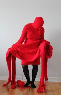 Pieta 1 by Bozica Radjenovic on ArtStack. Radjenovic was born and educated in Serbia. She now lives and works in Canada and explores the relationship between materials and subject matter in her work. Textiles, Karl Valentin, Instalation Art, Louise Bourgeois, Royal Ballet, Artist Gallery, Dark Fantasy Art, Soft Sculpture, Art Plastique