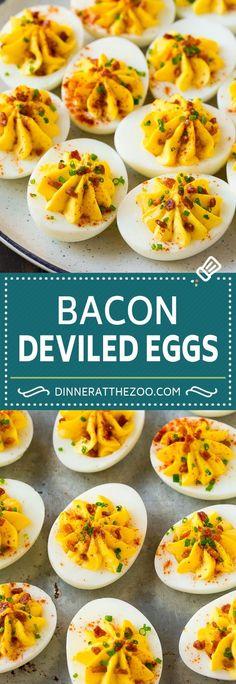 Bacon Deviled Eggs |