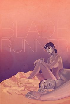 Blade Runner - fan art poster