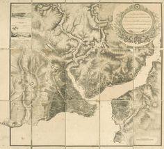 [Ottoman Empire] Map of Istanbul, 1851 (Osmanlı İstanbul Haritası, 1851)