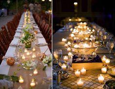 007 hochzeit kerzen Glas real wedding fotographie beispiel idee inspiration Hochzeit Deko Idee – Lichthochzeit mit Kerzen oder Lampen