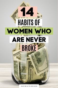 personal finance Here are 14 financial habits of successful women who are never broke. Build these money habits to produce successful results in life. Great personal finance and money saving tips to plan for your future! Budgeting Finances, Budgeting Tips, Ways To Save Money, Money Saving Tips, Money Tips, Financial Success, Financial Planning, Successful Women, Useful Life Hacks